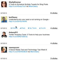 How to track links shared on Social Media by @Ian Tuck Tuck Tuck Tuck Cleary