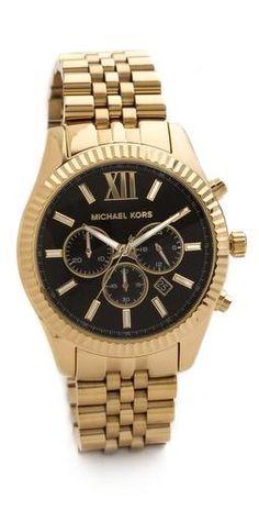 0f082e792261 Michael Kors Oversized Lexington Watch I neeeedddd ooonnneeee