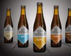 Elf & Dertigst  Beer brand / concept case by VAN-DER concept and design studio , via Behance