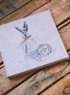 Wish book by Atelier Invitations (Βιβλίο ευχών)