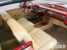 '57 Olds Fiesta interior