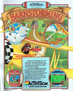 sweet vintage video games advertising, do you recall playing this game?