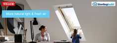 Enjoy panoramic views A VELUX top hung roof window will give you more head space and views to enjoy, whilst increasing the amount of natural light you enjoy, your home's energy efficiency and fresh air flow. Save money on your VELUX GPL skylight with Sterlingbuild low prices & free delivery.