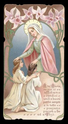 Mary I, Mother Mary, Sistine Madonna, Vintage Holy Cards, Sainte Marie, Catholic Prayers, Blessed Virgin Mary, I Am A Queen, Roman Catholic