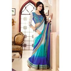 Buy all kind of Bollywood Ethnic Wear from Bollywood Sarees, Bollywood Lehengas, Bollywood Anarkali Suits, Bollywood Dress and Bollywood Gowns Indian Designer Sarees, Ethnic Wear Designer, Designer Sarees Online, Indian Sarees, Designer Sarees Collection, Saree Collection, Beautiful Saree, Beautiful Dresses, Anarkali