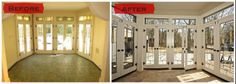 Before & After Sunroom Renovation http://www.thelitzgroup.blogspot.com http://www.litzgroup.com