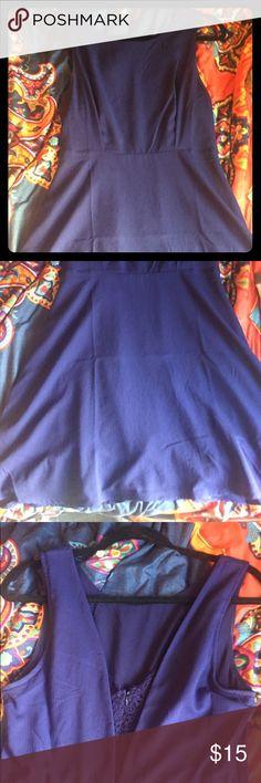 Blue Business Casual Dress Blue Forever 21 dress Forever 21 Dresses Midi