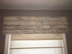 Handmade Window Valance//Custom Window Treatment//Wood Valance Box//Rustic Window Valance//Rustic Cornice Board//Custom Cornice Boards