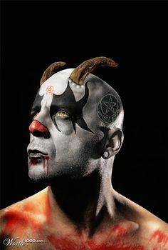 Evil Celebrity Clowns - Worth1000 Contests.  Willis