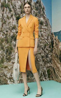 Altuzarra Resort 2016 Fashion Show tailored perfection.how long has is been? Fashion Week, Look Fashion, Daily Fashion, Fashion Show, Girl Fashion, Fashion Outfits, Womens Fashion, Fashion Design, Moda Retro