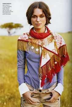 Keyra Knightley in Kenya for Vogue 2007