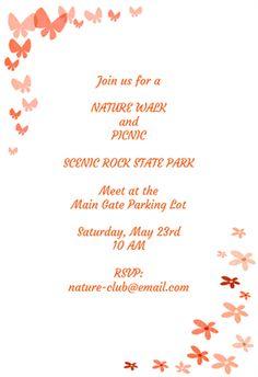 Invitation Templates Free Zebra Print Free Invitation Template  Marie's Style  Pinterest .