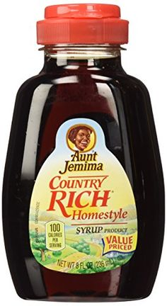 Aunt Jemima, Syrup, Country Rich Homestyle, 8oz Container (Pack of 3) *** Instant Savings available here : baking desserts recipes
