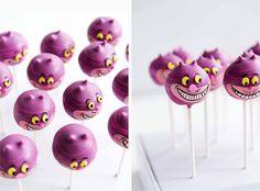 Cake Pops for Alice in Wonderland Party - by Isabella Schenz