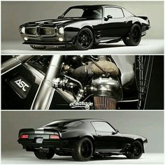 Amazing retro Pontiac Firebird.