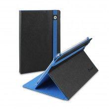 Funda Tablet 10 Pulgadas Muvit - Negra Azul Tira Sencilla  € 23,99