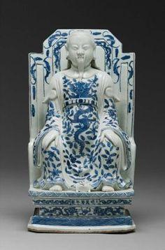 Sculpture de Xuan Wu (Zhen Wu), dynastie Ming (1368 - 1644)