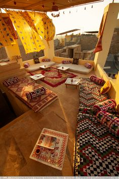 The Rooftop Cafe - Jaisalmer, Rajasthan, India- Hinduism design & architecture ॐ