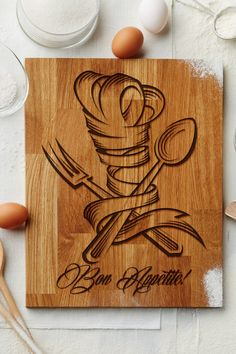 Personalized Chef Cutting Board Birthday by CuttingBoards4Gift