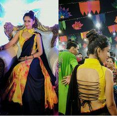Choli Blouse Design, Sari Blouse Designs, Choli Designs, Designer Blouse Patterns, Blouse Neck Designs, Kurta Designs, Sleeve Designs, Garba Dress, Navratri Dress