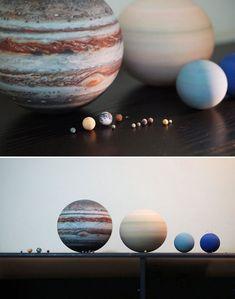 Wydrukowany w 3D miniaturowy Układ Słoneczny - idealny prezent dla maniaka astronomii - Joe Monster