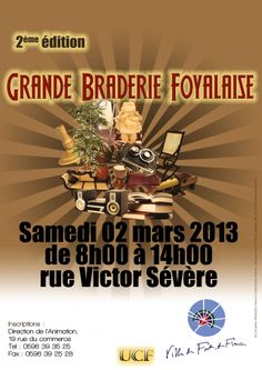"EVENT : ""GRANDE BRADERIE FOYALAISE"" IN MARTINIQUE"
