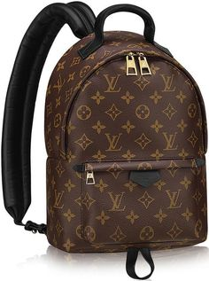 Louis Vuitton Palm Springs Backpack Something urban and funky for the designer junkie? Were not out to ultimately convert you from your tote or handbag obsession but backpacks have been making waves in high fashion thes Hermes Handbags, Louis Vuitton Handbags, Tote Handbags, Fashion Handbags, Fashion Bags, Louis Vuitton Monogram, High Fashion, Designer Handbags, Designer Totes