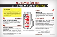 diet coke health effects soft drinks