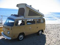 one way to go - rent a Westfalia and map out your own adventure // via Vintage Surfari Wagons
