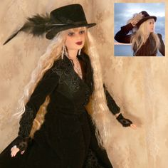 Stevie-Nicks-CUSTOM-Doll-SEVEN-WONDERS-American-Horror-Story-Coven-LTD-EDITION