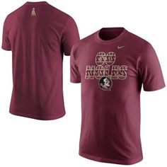 Nike Florida State Seminoles (FSU) 2014 New Logo Launch T-Shirt - Garnet