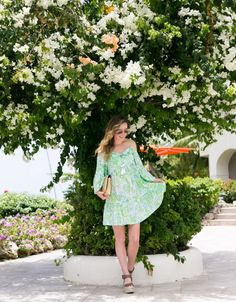 The gardener at the Bougainvillea Resort in Barbados needs a raise. Probably the best part about the property were all. Bougainvillea, Spring Summer Fashion, Summer Time, Lilly Pulitzer, What To Wear, Street Wear, Stylists, Barbados, Street Style