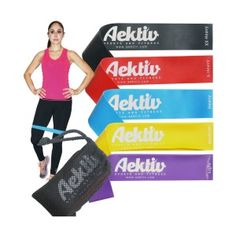 Ankle Strap HemingWeigh Resistance Band Set with Door Anchor Exercise Chart...