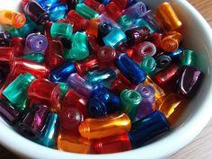 Korálky z PET lahví | Moje mozkovna