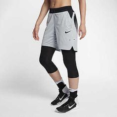 Efficient Nike Elite Stripe Dri-fit Black Basketball Game Shorts Strong Packing Clothing, Shoes & Accessories