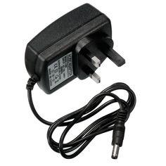 Pared CA 100-240V al adaptador del cargador de la fuente de alimentación 5.5x2.1m m 0.5a enchufe uk dc 12v