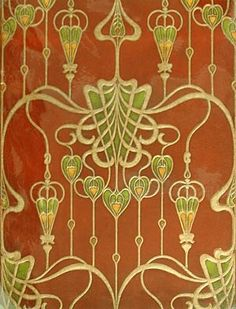 1904 wallpaper sample from M.H. Birge & Sons of Buffalo, New York, one of the leading wallpaper manufacturers in America.