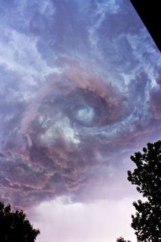 Cloud swirl