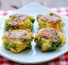 The Best Healthy Recipes: Cheesy Broccoli Bites