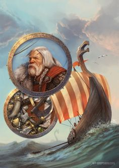 Vikings by Kai-S on DeviantArt Viking Life, Viking Art, Viking Ship, Viking Warrior, Viking Books, Ancient Vikings, Norse Vikings, Utrecht, Viking Tribes