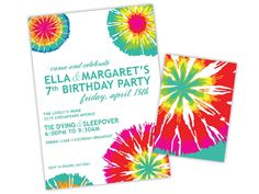 44 Best Tie Dye Birthday Images Birthday Party Ideas Ideas For