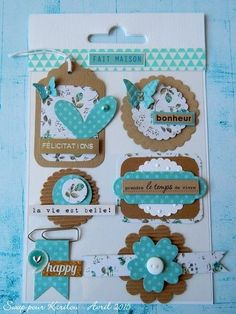 Most up-to-date Cost-Free card Embellishments Tips Crocheting minor designs will be a wonderful way to make your very own tailor made gadgets – brooches along Scrapbooking Diy, Scrapbook Cards, Scrapbook Borders, Scrapbook Embellishments, Album Diy, Karten Diy, Candy Cards, Paper Tags, Paper Clip