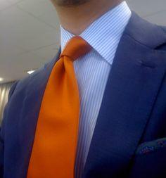 A Sam (And David) Hober Tie Appreciation Thread, Burnt Orange Silk