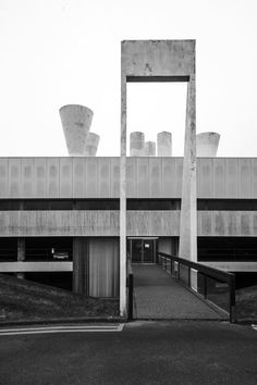 Killingworth, Ryder and Yates, UK, 196. Minimal and strict forms of Brutalist architecture