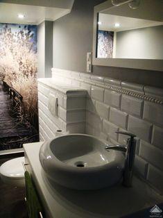 Znalezione obrazy dla zapytania cegiełki w łazience