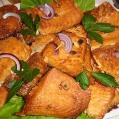 Hungarian Recipes, Tandoori Chicken, Fish Recipes, Salmon, Grilling, Meat, Cooking, Breakfast, Ethnic Recipes