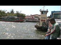 Atravessando de Balsa de Arraial d'Ajuda para Porto Seguro #Arraiald'Ajuda #PortoSeguro #Brazil #Bahia