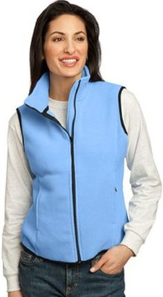 Port Authority Women's RTek Fleece Vest >>> Read more reviews of the item by visiting the link on the image.