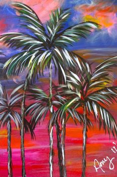 easy acrylic painting ideas for beginners on canvas - Google Search