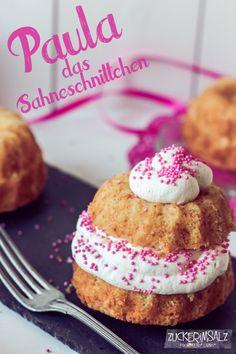 Gugls with rice flour and cream ... Gugls mit Reismehl und Sahne